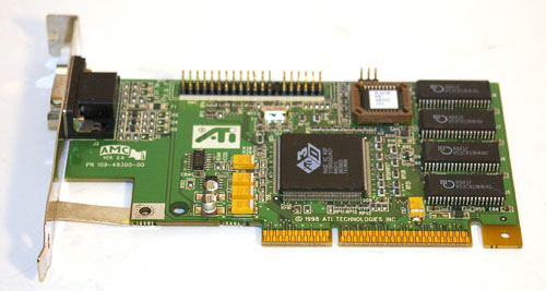 ATI RAGE II AGP video card