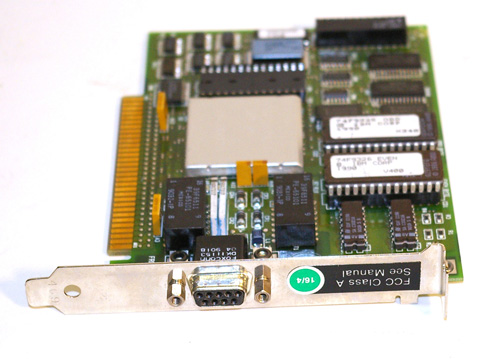 IBM CGA Video card with DE9 connector